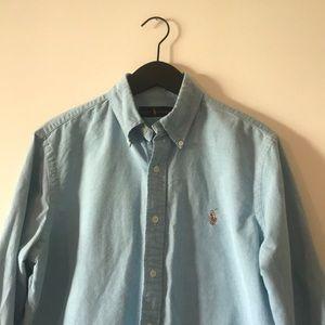 Ralph Lauren Blue Oxford Shirt